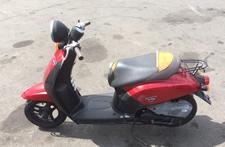 バイク買取例3 シートが破れている