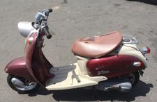バイク買取例4 少しの破損・欠品